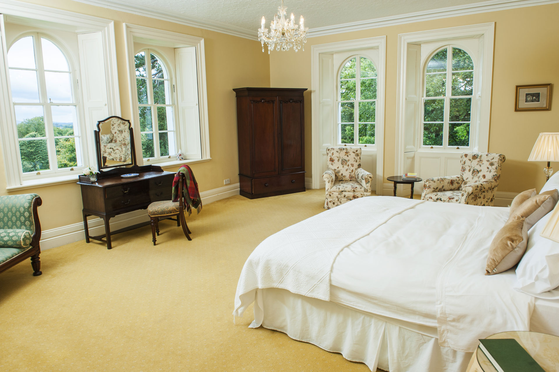 Cream Master Bedroom
